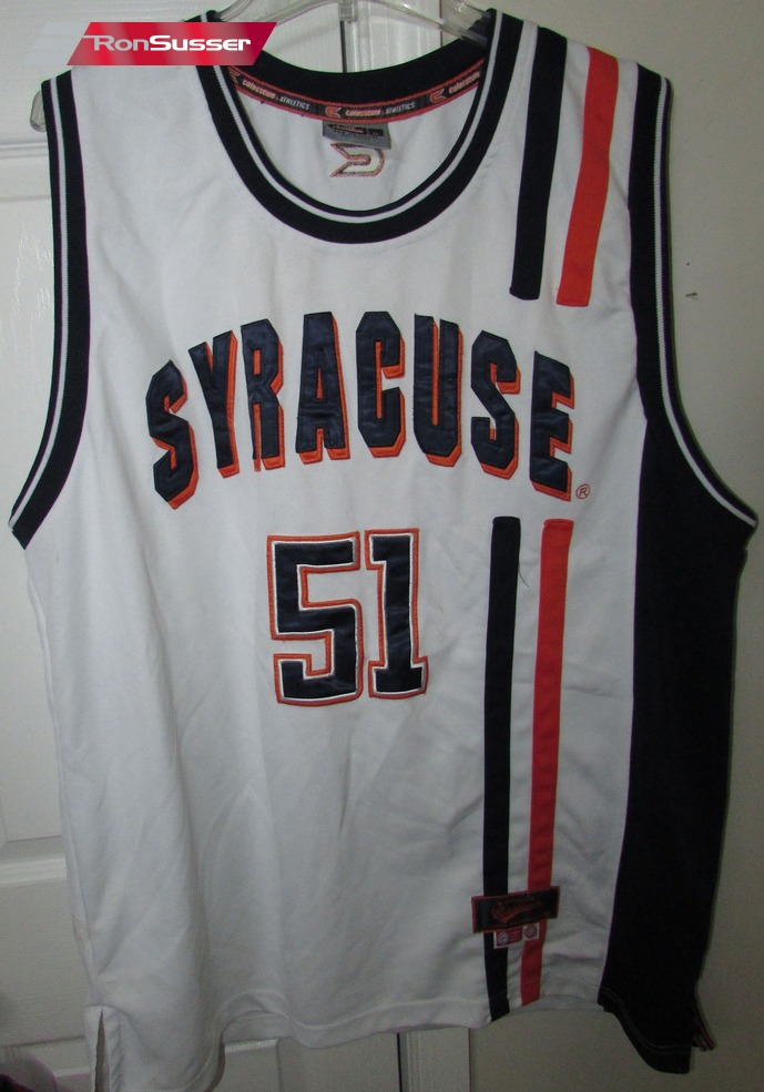 Ncaa Syracuse Basketball Jersey 51 Xl By Colosseum Am Heritage Classics 92 Ronsusser Com