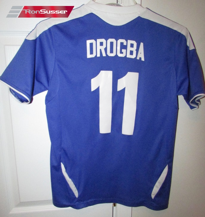 huge selection of a86ab ad965 Team Chelsea Samsung Mobile #11 Didier Drogba Football ...