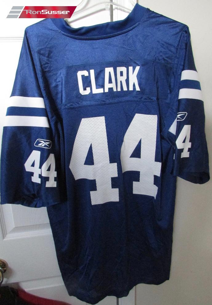 NFL Indianapolis Colts Dallas Clark #44 Super Bowl XLIV Jersey XL ...