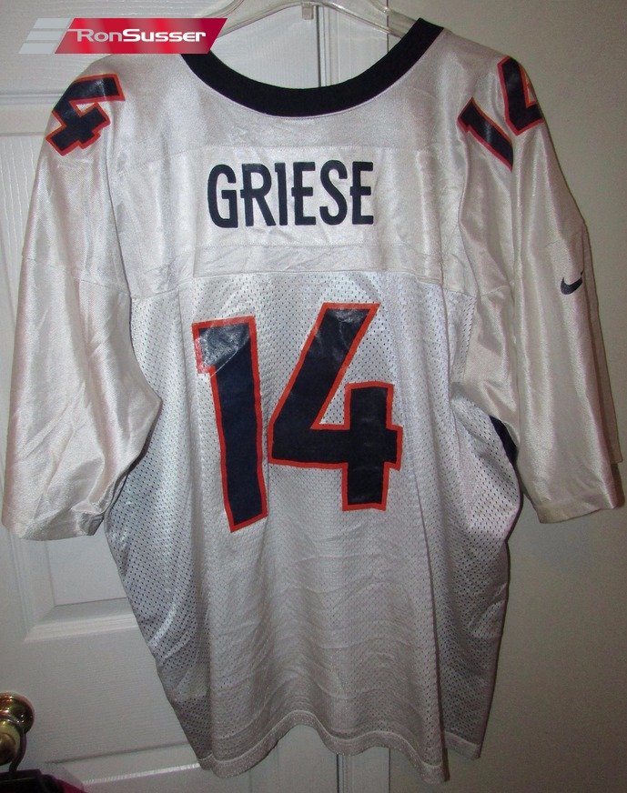 check out d9c3e ac61b NFL Denver Broncos Brian Griese #14 Jersey Sz XL by Nike ...