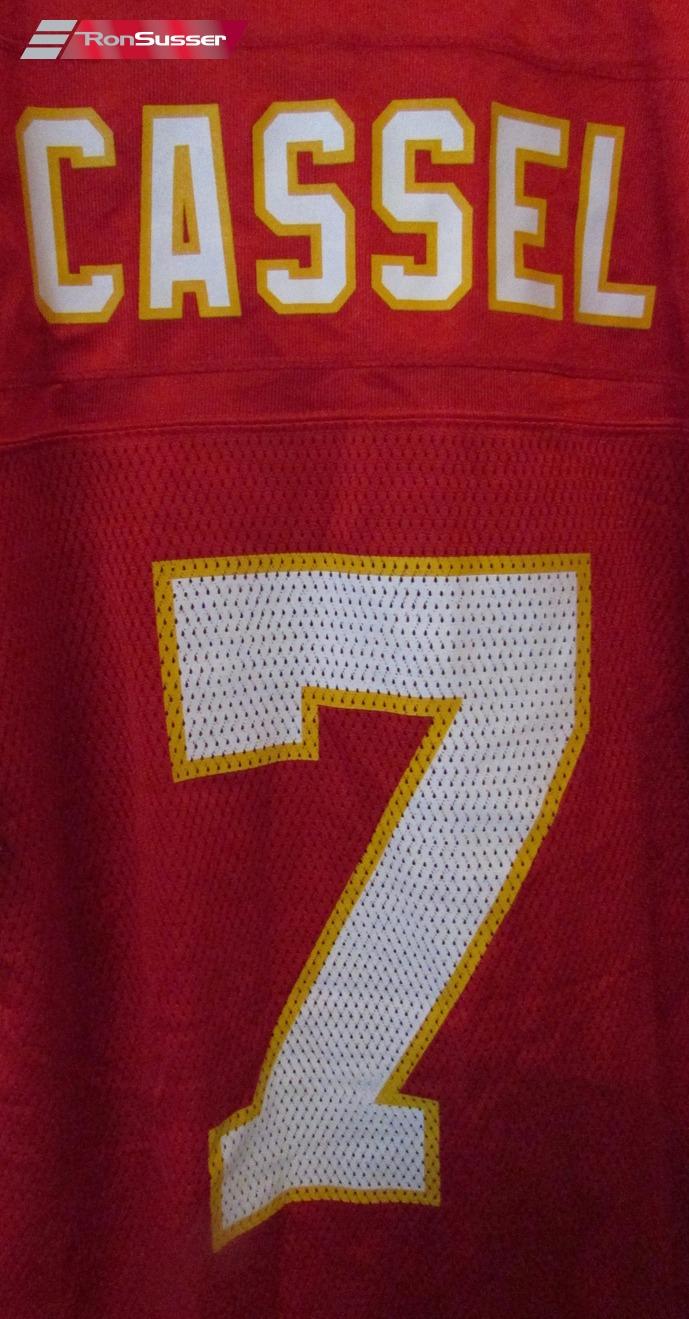 NFL Kansas City Chiefs #7 Matt Cassell LH Patch Jersey Sz Medium ...