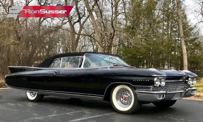 1960 Cadillac Eldorado Biarritz Convertible Blackred Simply