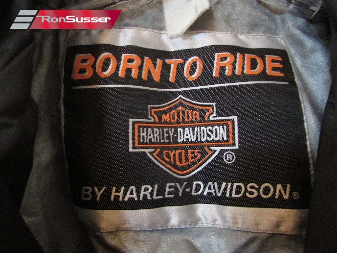 b8354f75b Harley Davidson Born To Ride Infant Youth Toddler Black Fabric Faux ...