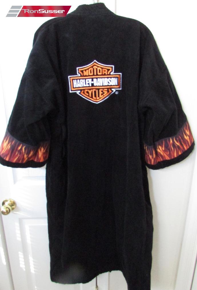 269f171fd3 Harley Davidson Mens Womans Black Bathrobe OSFA – RonSusser.com