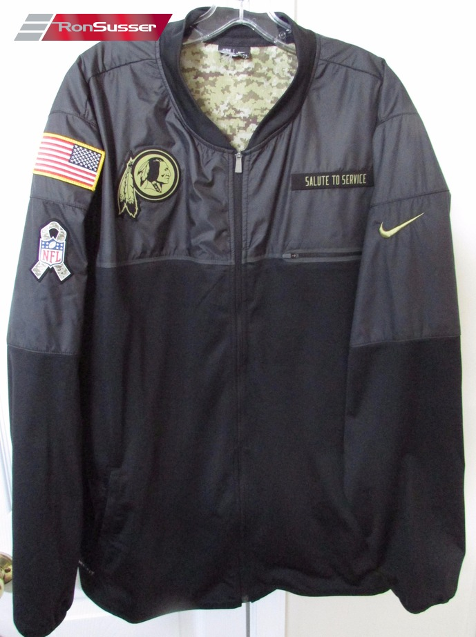 NFL Washington Redskins Nike Salute to Service Jacket 2XL Team Issued 84407327a