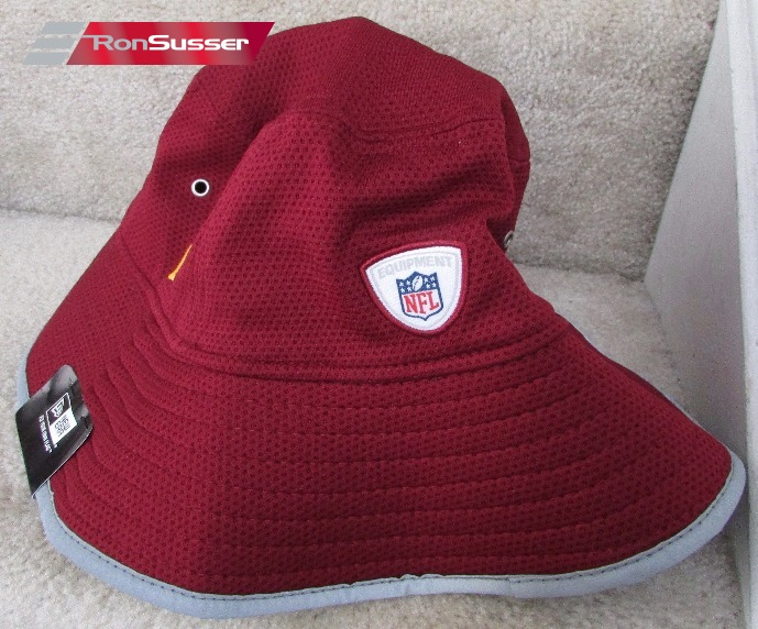 1d17c4f6e4ea72 NFL Washington Redskins Training Bucket New Era Maroon Hat Team ...