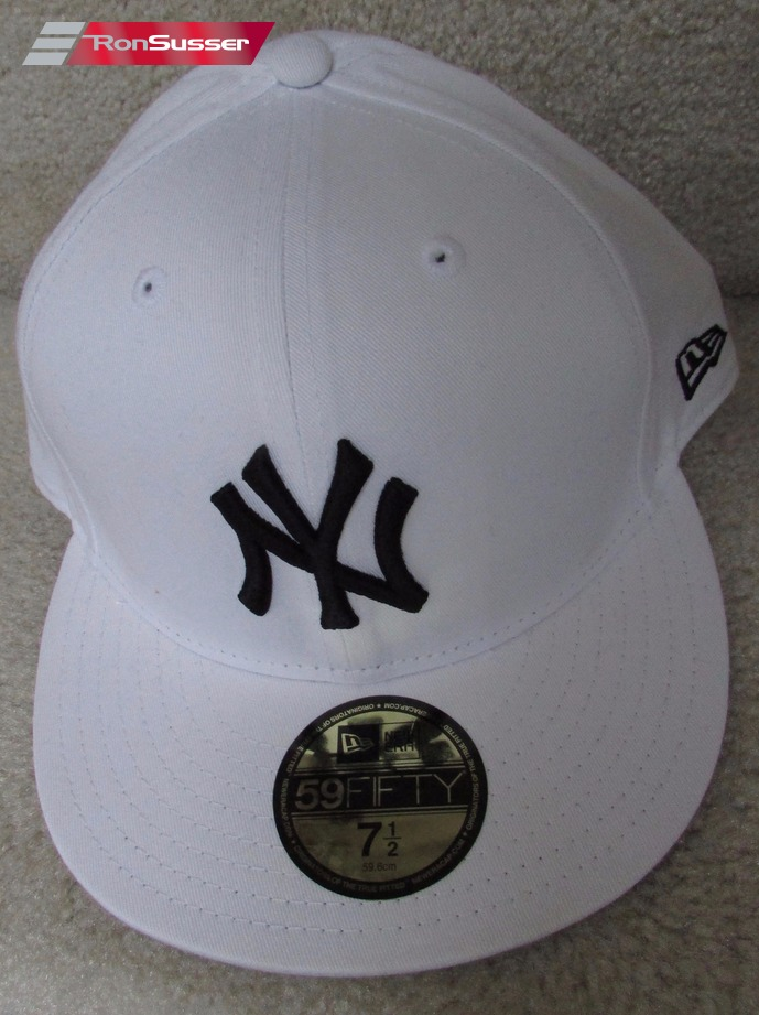 15af618538d MBL New York Yankees White Baseball Hat Size 7 1 2 Brand New New Era Cap  59Fifty