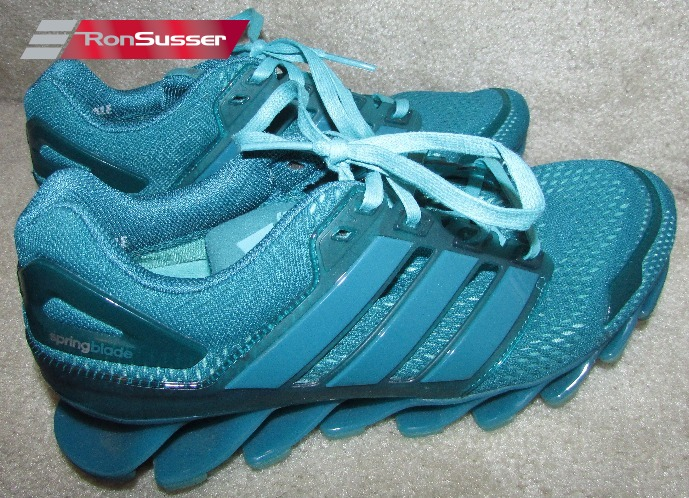 Adidas Springblade Drive 2 Teal SAMPLE Womens Running Shoes Size 7 ...