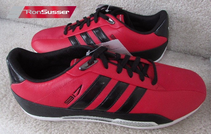 free shipping 4fe30 c5a06 Adidas Porsche Design 917 Red Sneakers Driving Shoes SAMPLES Size 9 Rare  COOL