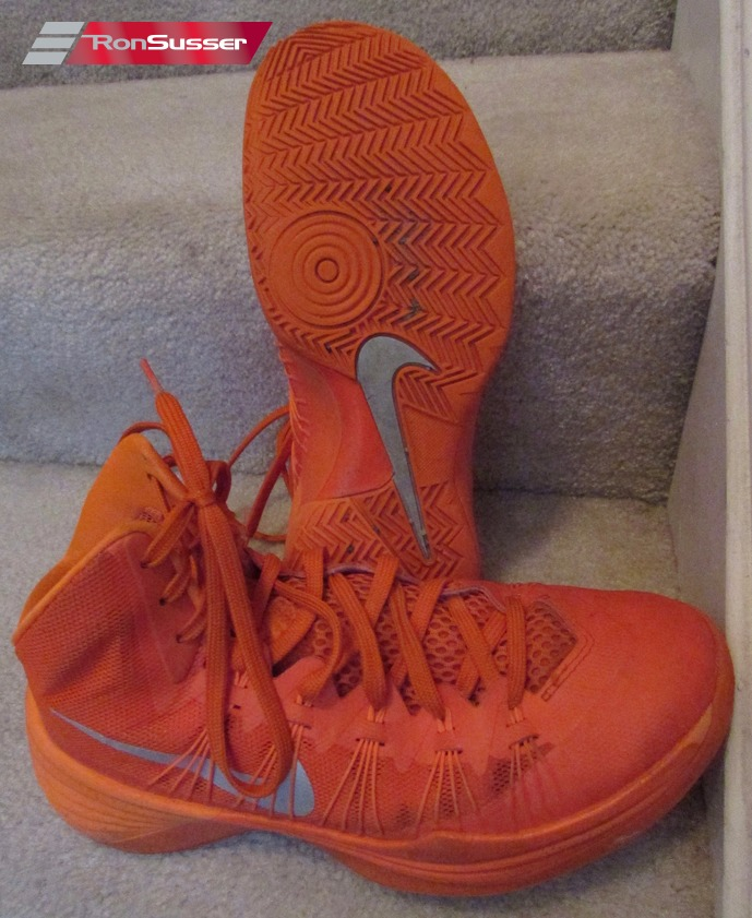 ac6344580ab1 Men s Nike Hyperdunk 2013 Orange Basketball Shoes 584433-800 sz 8 ...