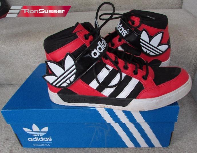 Boys Adidas Originals Hard Court 2 Athletic Shoes G99472 Size 6.5 Black Red  – RonSusser.com b0b8dd61c831