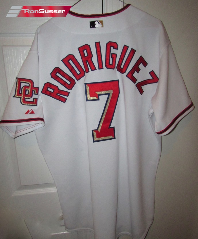 watch 2dcf6 3ebdc 2010 MLB Washington Nationals Ivan Pudge Rodriguez #7 Team ...