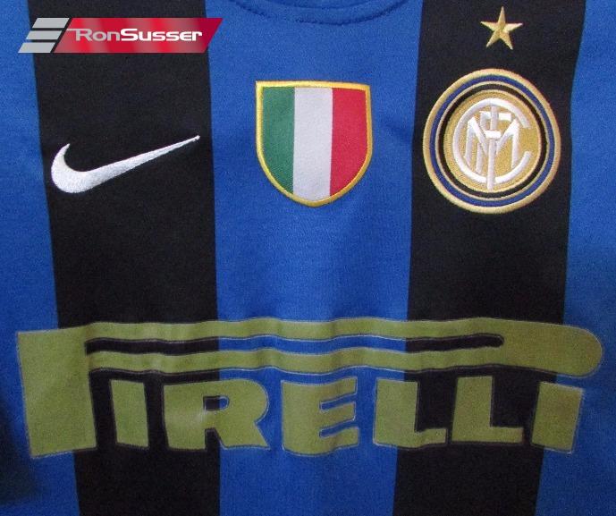 new product e51f4 b2a07 Inter Milan PIRELLI Ibrahimovic #8 Soccer Jersey Shirt Youth ...