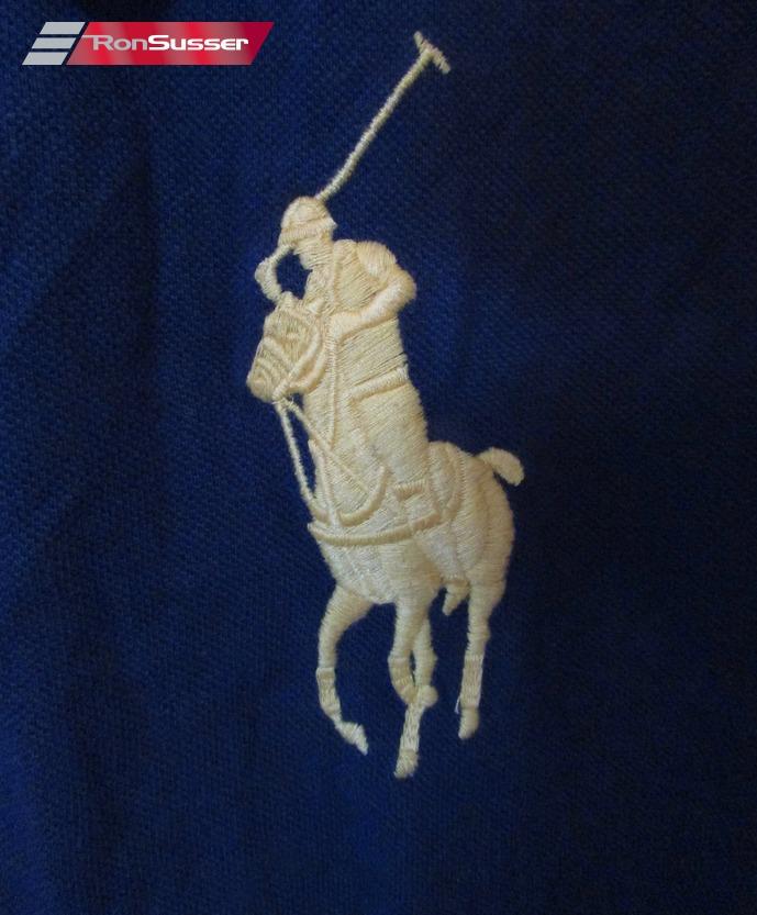 Polo Ralph Lauren 3 Youth Big Horse Logo Polo Shirt Blue Maroon
