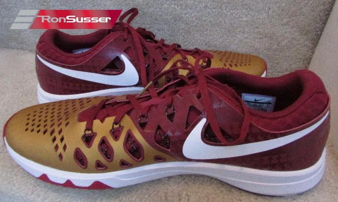 official photos 63c13 8b808 Florida State Seminoles Nike NCAA Train Speed 4.0 AMP Zero Training Shoes  Sz 15 NEW