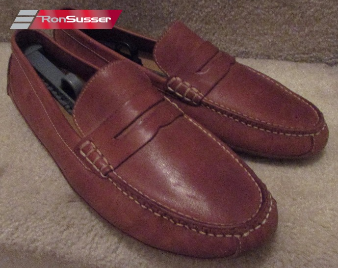 063ea67f9fb Cole Haan Mens Brown Grant Canoe Penny Loafer Driving Mocs Shoes Size 12M  EUC C12134