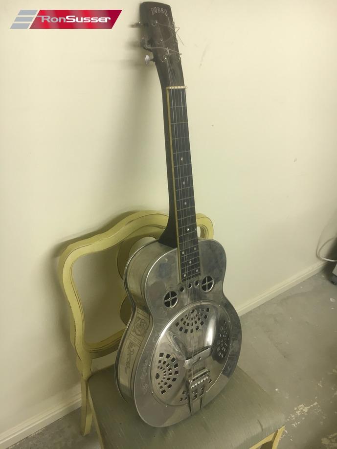 1937 Vintage Dobro M15 Resonator Guitar Ronsusser Com