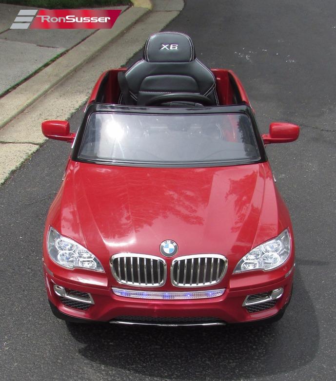 Bmw X6 Toy Car: BMW X6 12v Kids Ride On Power Wheels Toy Car Maroon