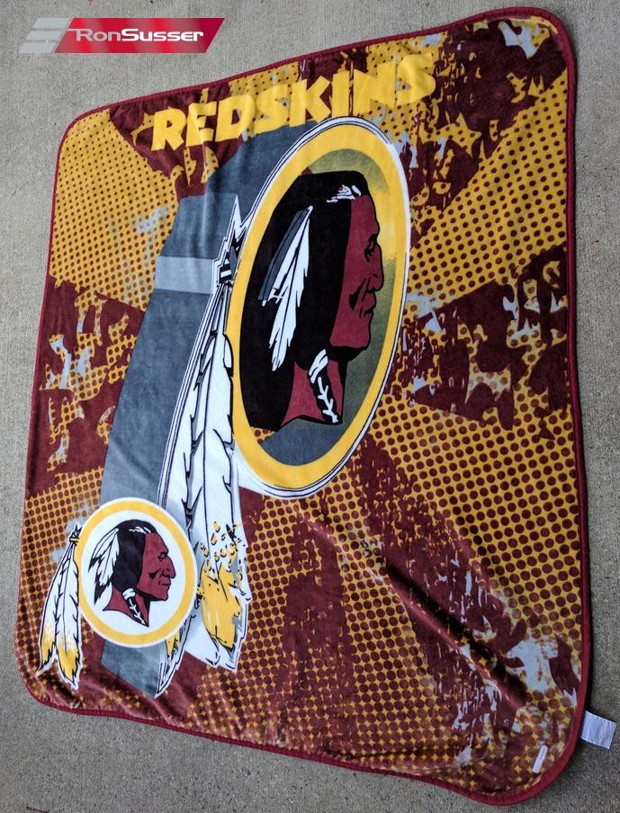 NFL Washington Redskins Fleece Like Throw Blanket 40 X 40 Custom Redskins Throw Blanket