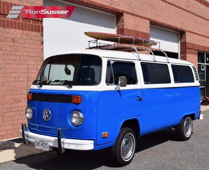 I Am Pleased To Offer This Very Nicely Restored 1974 VW Bus Was Re Painted And In 2012 Odometer Shows 2814 Which Is Likely 102814 Miles