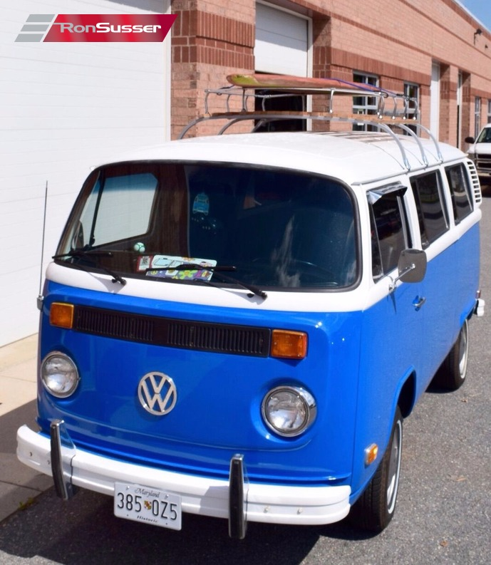 Volkswagen Bus Parts: 1974 VW Type 28 Restored Micro Bus Tons Of New Parts