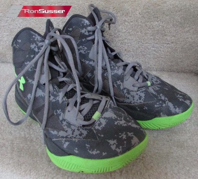 077d4c8c6b7 Under Armour Youth Lightning 2 PRT Basketball Shoes Size 7Y Camo ...