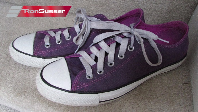 af5cd49bbe7f Converse All Star CT OX 540246F Purple Women Sneakers Sz 10 ...