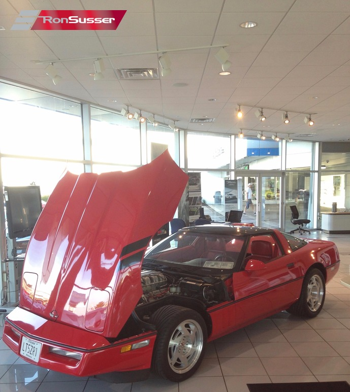 1990 Chevrolet Corvette Zr1: 1990 Chevy Corvette ZR1 Red/Red #1383 Well Documented 2