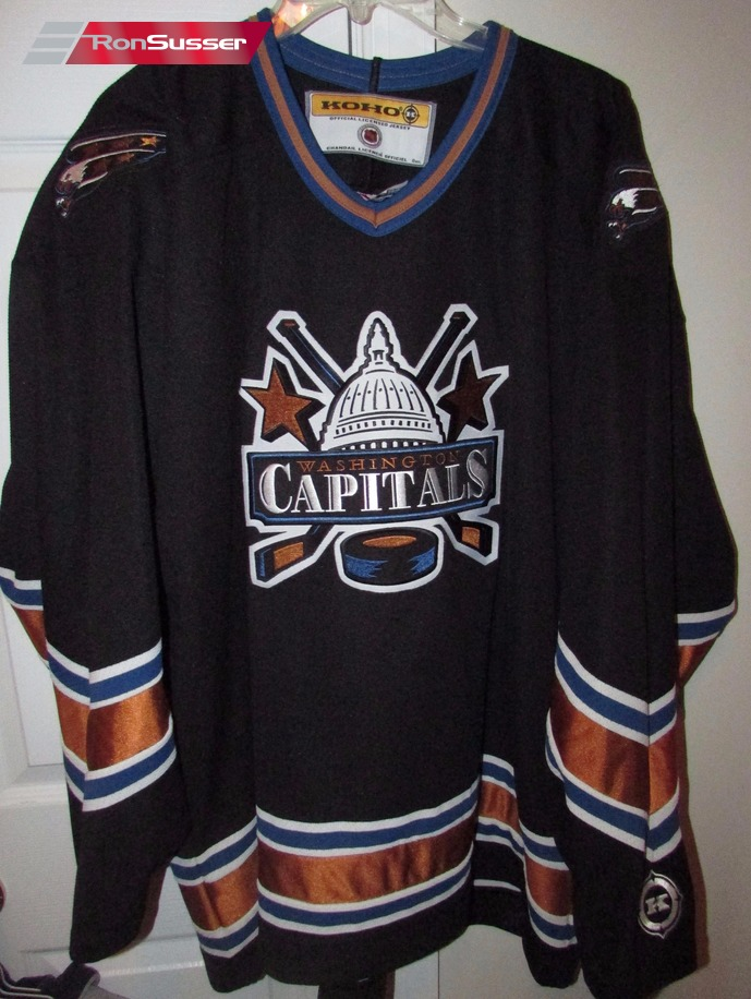 sale retailer 2b665 e0d6b NHL Washington Capitals Black Jersey Size XL by Koho Very ...
