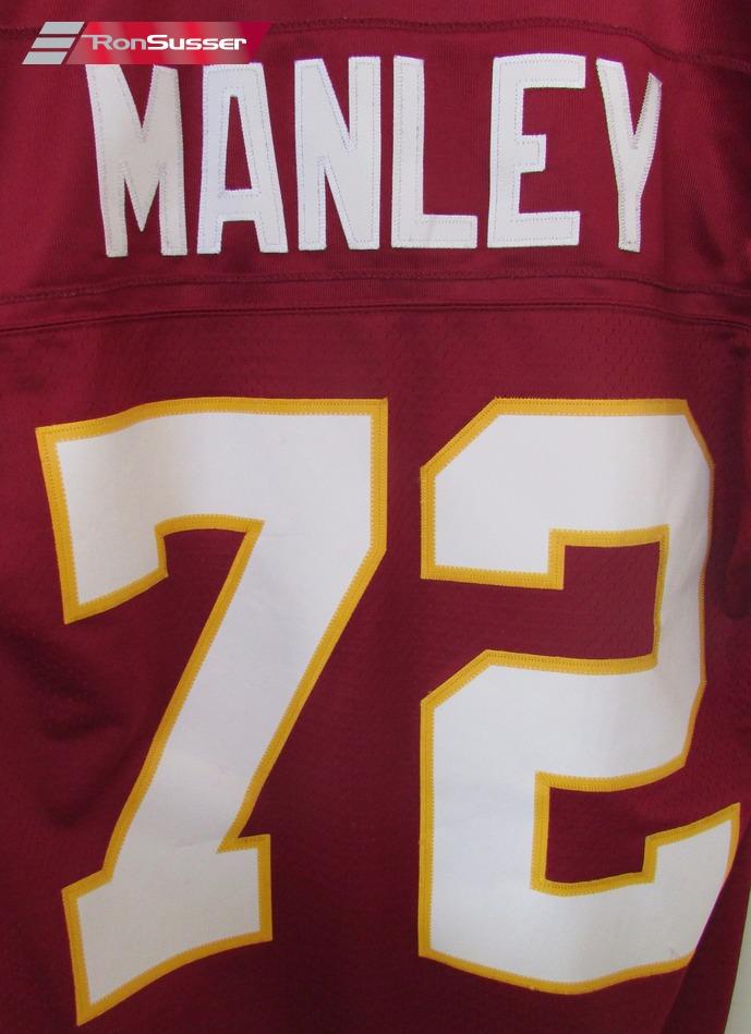 watch 146f2 a5d95 NFL 1986 Washington Redskins Dexter Manley #72 Jersey Medium ...