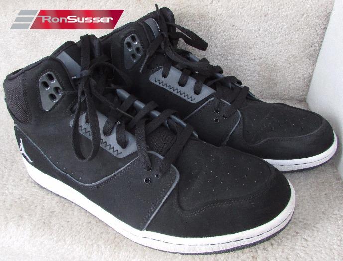 92293449073ea2 Nike Jordan 1 Flight 2 Athletic Sneakers Shoes 555798-003 Black White Sz 13