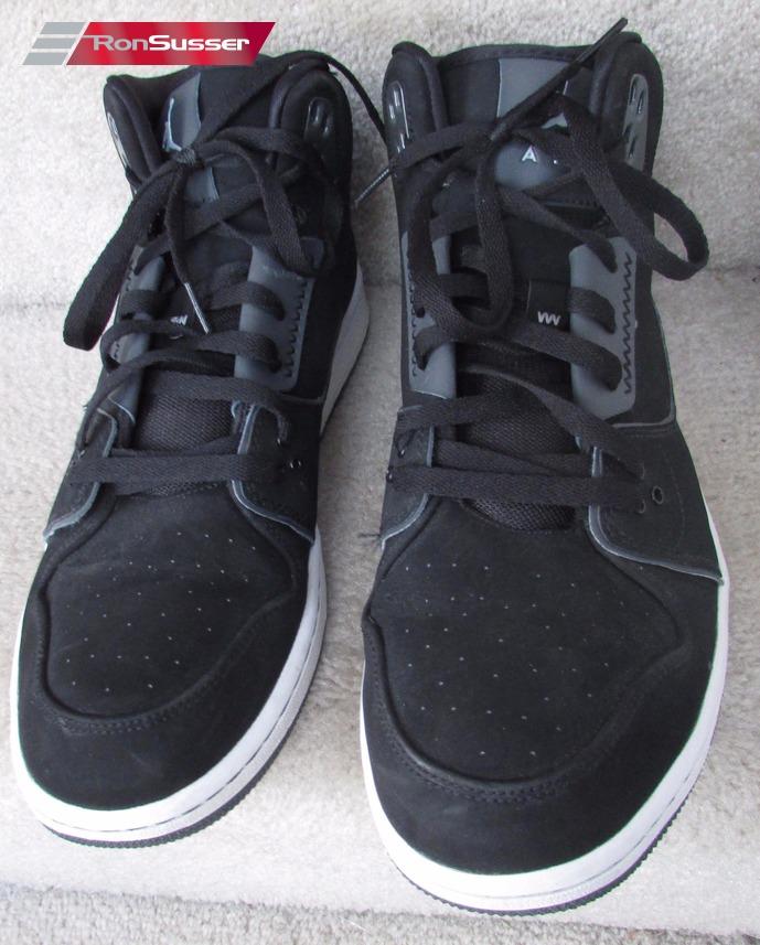 b839b4e42fff08 Nike Jordan 1 Flight 2 Athletic Sneakers Shoes 555798-003 Black ...