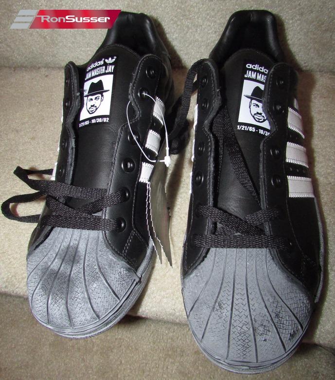 f7d130a65e8 2003 Adidas Superstar ULTRASTAR JMJ Jam Master Jay Run DMC BLACK ...