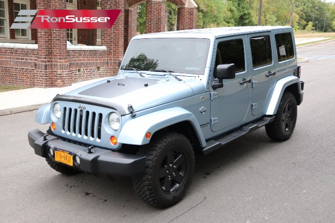 I Am Pleased To Offer This 2012 Jeep Wrangler Unlimited 4 Door Arctic  Edition. According To My Research, This Jeep Is Only 1 Of 1113 Arctic  Editions ...