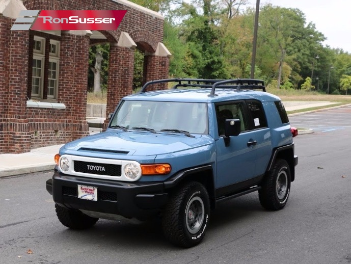 I Am Pleased To Offer This 2014 Toyota FJ Cruiser Trail Teams Ultimate  Edition. This Is A Limited Edition Of One Of 2500 Produced.