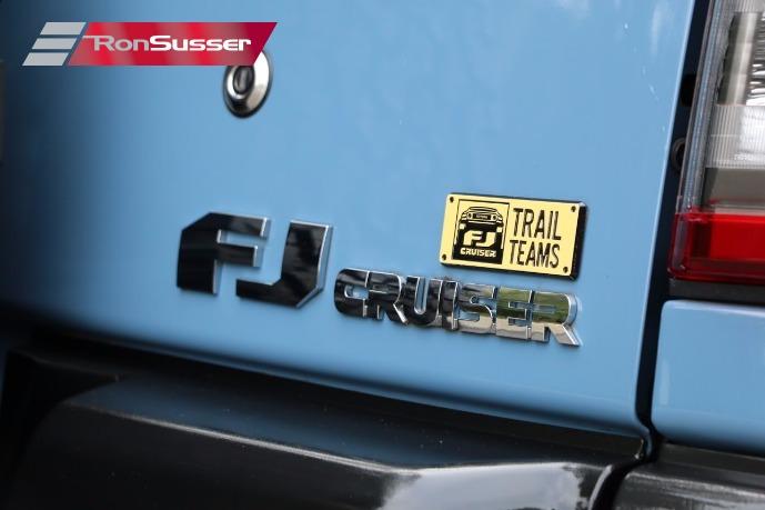 2014 Toyota Fj Cruiser Trail Teams Edition 1 Of 2500 Made