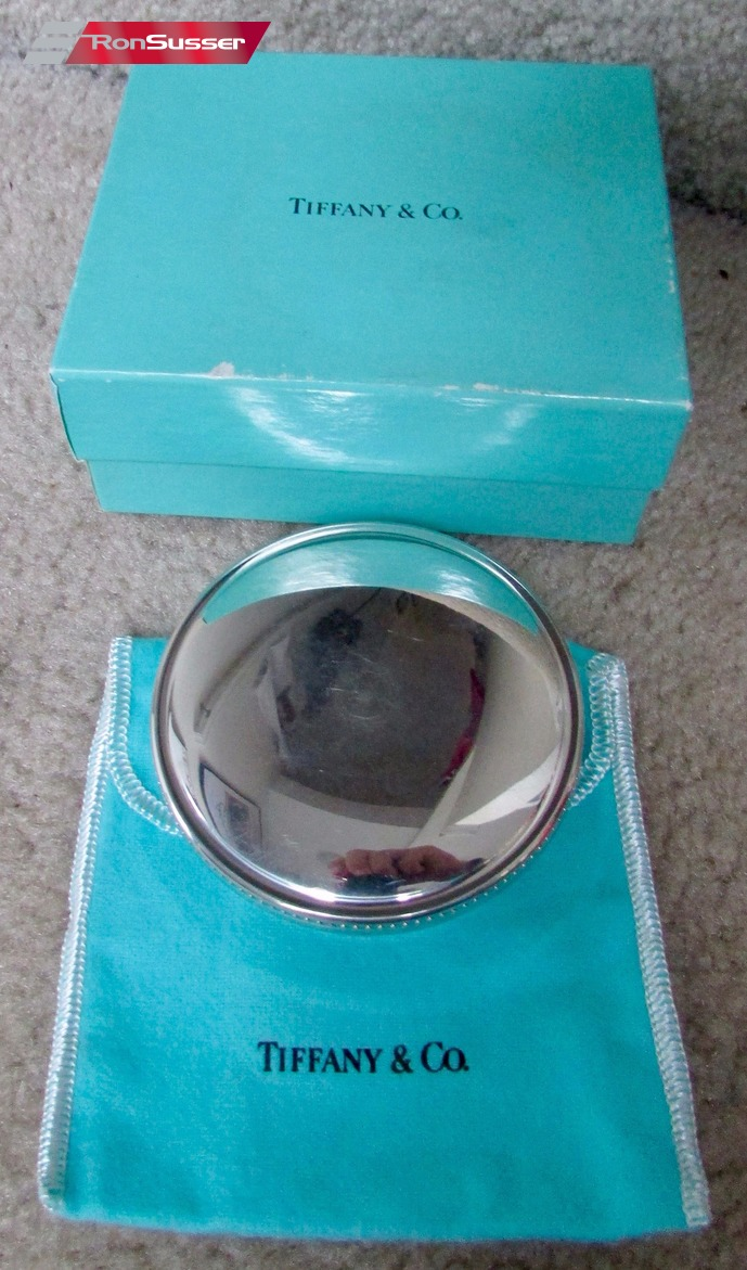 625242a0d9 Tiffany And Co Pewter Trinket Ring Jewelry Box Holder Ronsusser