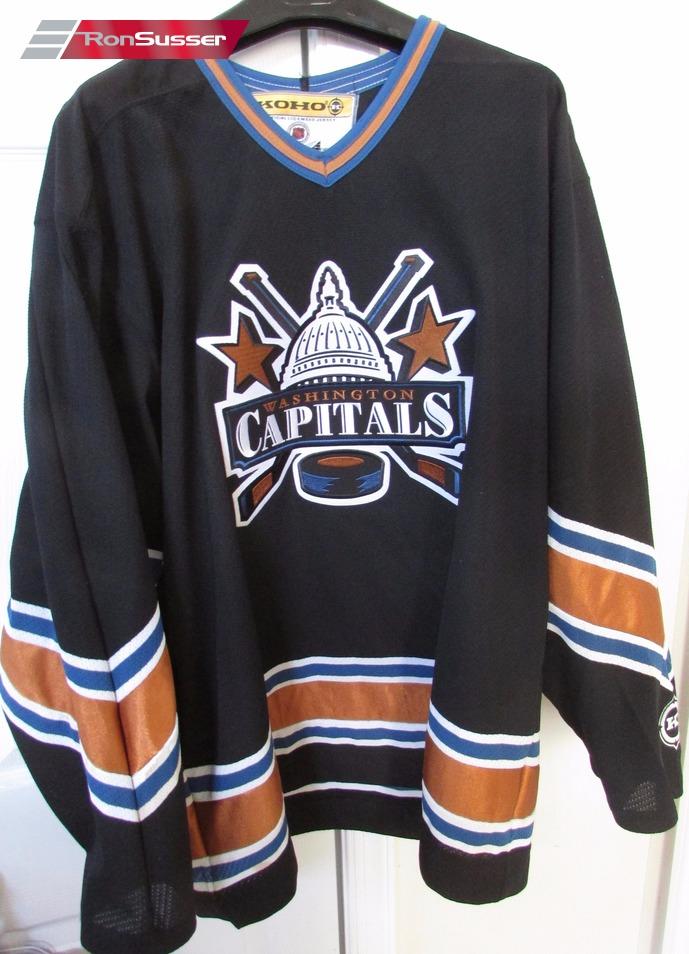 nhl capitals jersey