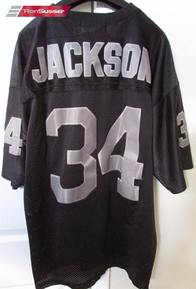 online store 6e9fb ca8e1 NFL LA Oakland Raiders #34 Bo Jackson Limited Edition Jersey ...