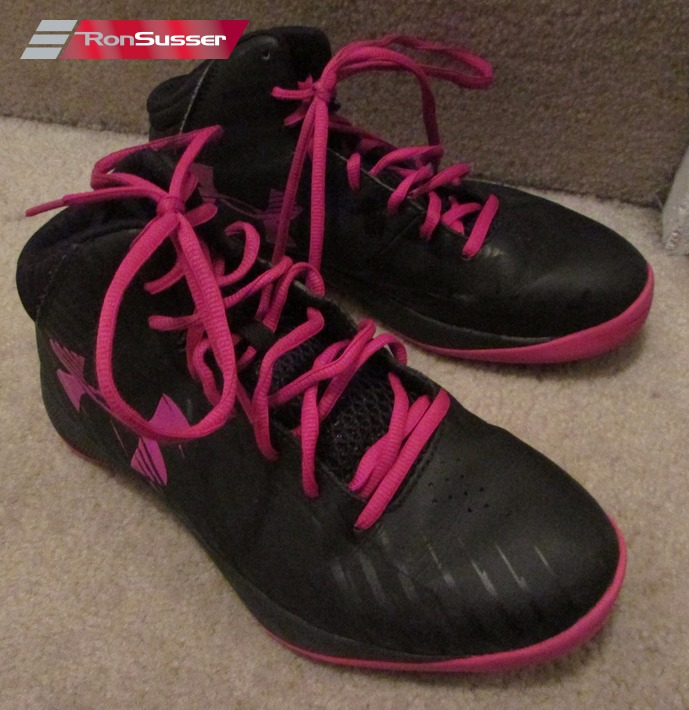 1bff139b Under Armour Women's Jet Basketball Shoes Black & Pink 1259035-064 ...