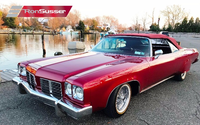 I Am Pleased To Offer This Beautiful And Laser Straight 1975 Oldsmobile Delta 88 Royale Custom Convertible A Tremendous Amount Of Money Has Been Spent