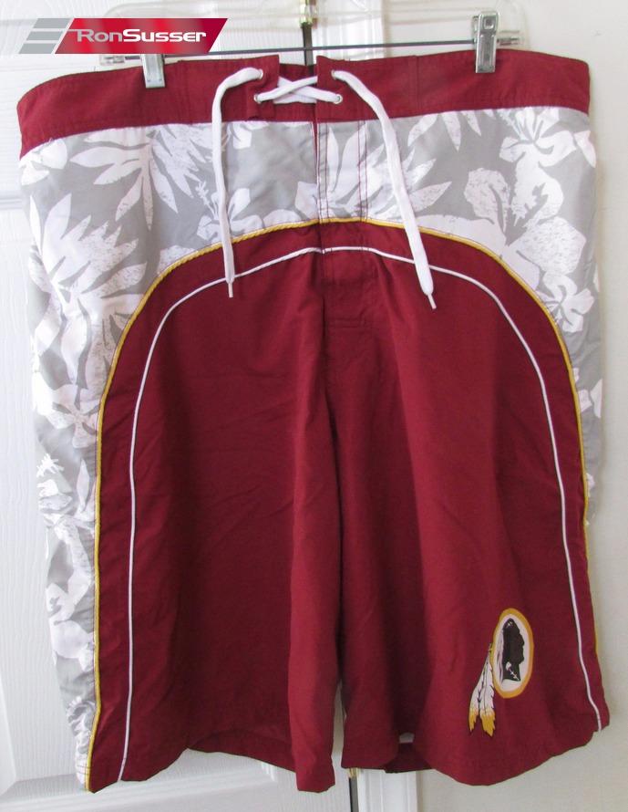 687c50baeb NFL Washington Redskins Bathing Suit Swimming Trunks XXL EUC ...