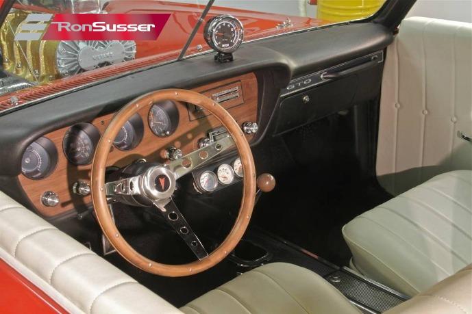 1967 Pontiac GTO Monkeemobile Custom: Monkeemobile Tribute Car by Dean Jeffries 45th Anniv Tour, Signed by 3 Monkeeys