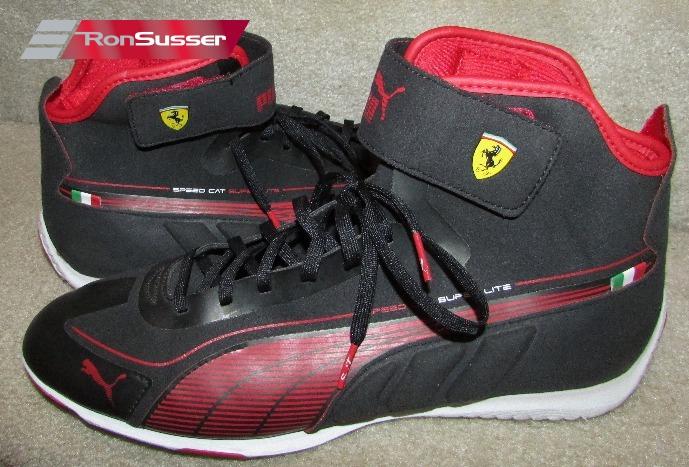 Puma Ferrari Mens High Top Speed Cat Super Lite Sneakers Shoes Size 10 US  43 Euro  30437601 cac6c9577d15