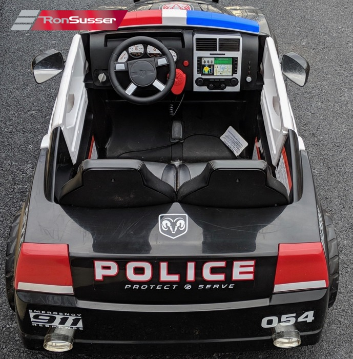 Kid Trax Dodge Charger Pursuit 12V Ride On Police Car ...