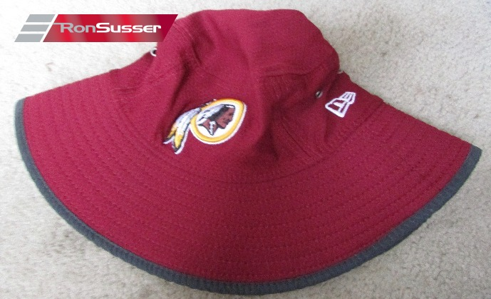 5828e2dc081f5c I am pleased to offer this brand new maroon NFL Washington Redskins New Era  training camp bucket hat. Hat is brand new and size is large/XL.