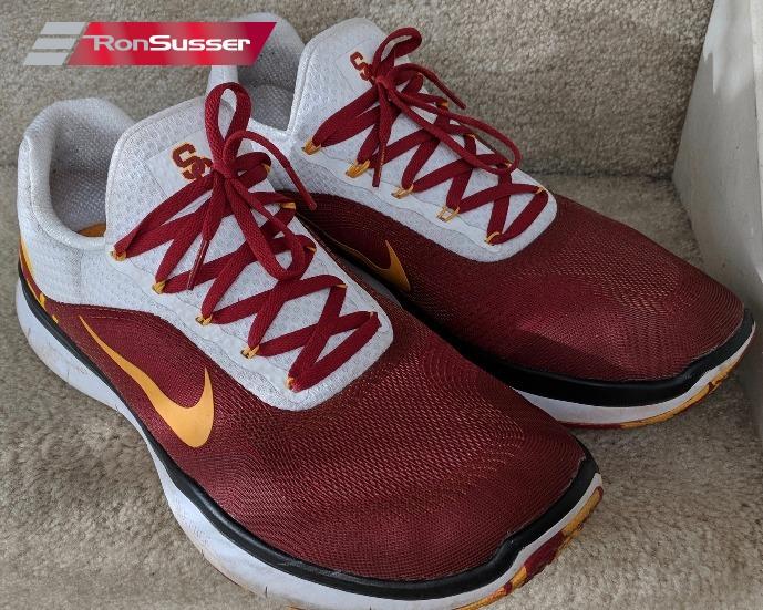 225f1fed Details about Nike Free Trainer V7 Week 0 USC NFL Redskins Su'a Cravens  Workout Shoes Sz 12.5