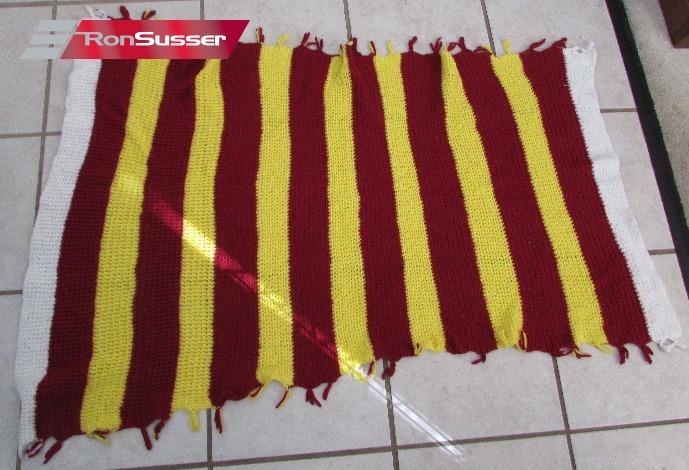 NFL Washington Redskins Handmade Knitted Throw Blanket 40 X 40 EBay Amazing Redskins Throw Blanket