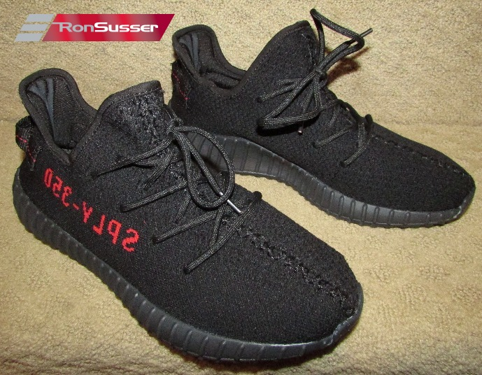 6af0560d1 Adidas Yeezy Boost 350 V2 Bred Size 8 New without Box CP9652 Core Black Red  Kanye