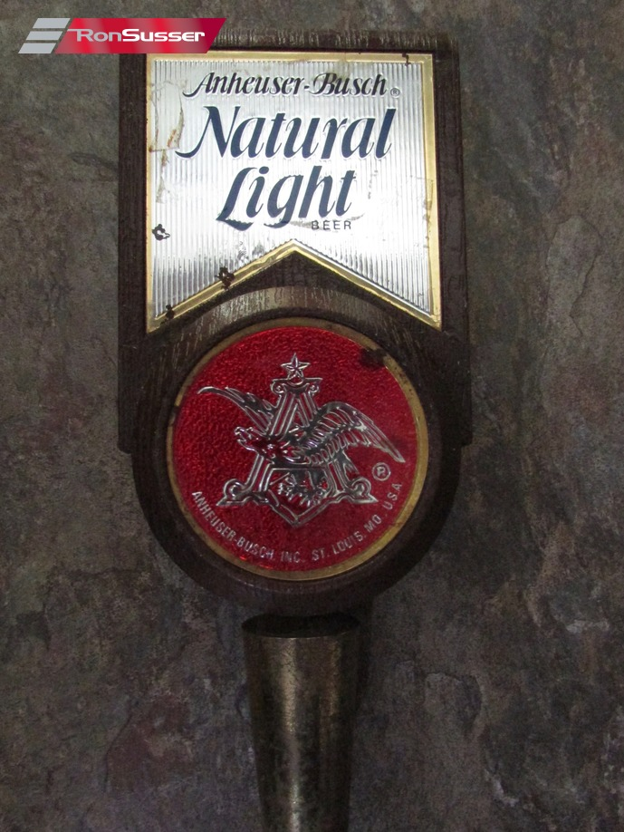 Anheuser Busch Natural Light Beer Tap Handle 6 Inches